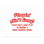 Pimpin' Ain't Easy .. Cross Country Coach Postcard