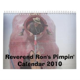 Pimpin' Calendar 2010 de Ron reverendo Calendario