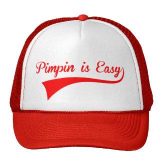 Pimpin es fácil gorras