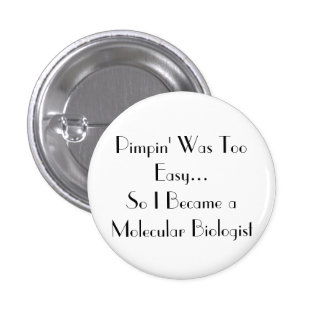 Pimpin' Is easy Pinback Button