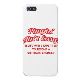 Pimpin no es fácil. Software Engineer iPhone 5 Cárcasas