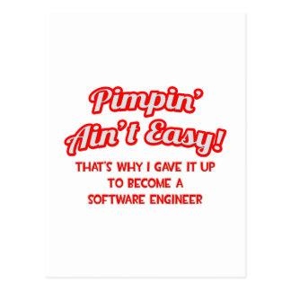 Pimpin no es fácil. Software Engineer Postal