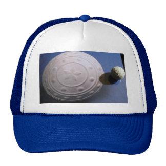 Pimple ball shadow trucker hat