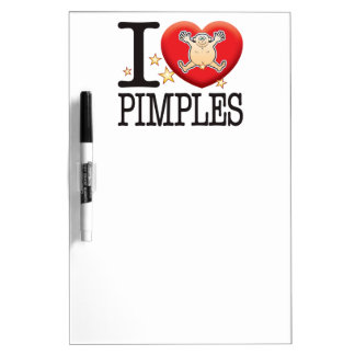 Pimples Love Man Dry-Erase Boards