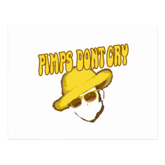 Pimps Dont Cry the other guys movie Postcard