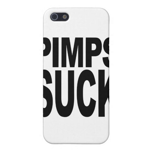 Pimps Suck iPhone 5/5S Covers