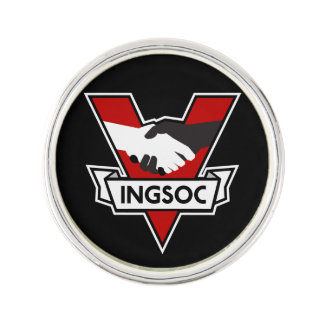 Pin 1984 de la solapa de INGSOC