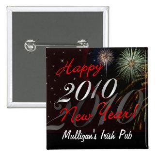 Pin 2010 - favor de la Feliz Año Nuevo de fiesta e