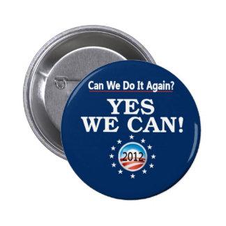 Pin 2012 de la reelección de Obama /Biden