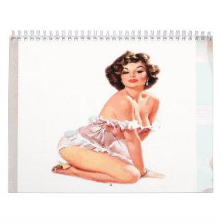 Pin 2014 encima del calendario