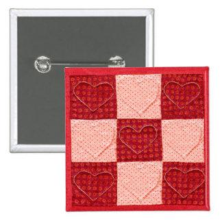 Pin acolchado de la tarjeta del día de San Valentí