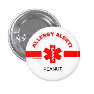 Pin adaptable de la alarma de la alergia