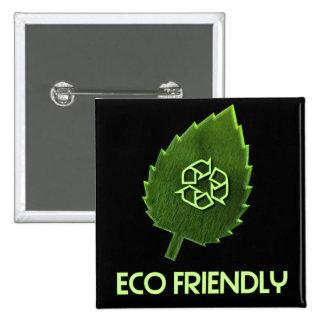 Pin amistoso del cuadrado de Eco