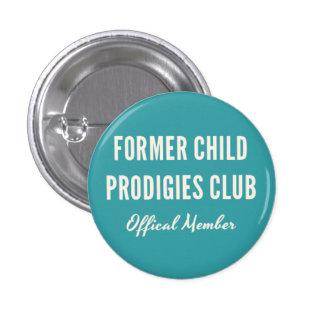 Pin anterior del club de los Prodigies de niño