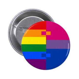 Pin bisexual de Homoromantic