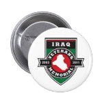 Pin conmemorativo de los veteranos de Iraq