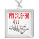 Pin Crusher Personalized Necklace