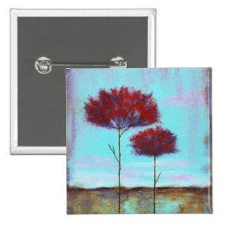 Pin cuadrado acariciado de la pintura original