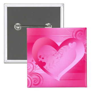 Pin cuadrado de los regalos de la tarjeta del día