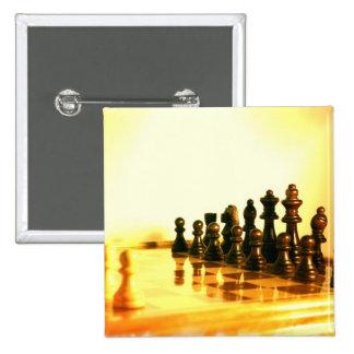 Pin cuadrado del tablero de ajedrez