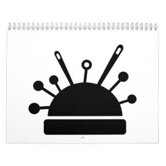 Pin cushion calendar