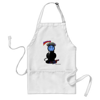 Pin-Cushion Head (with logos) Adult Apron