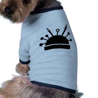 Pin cushion pet shirt