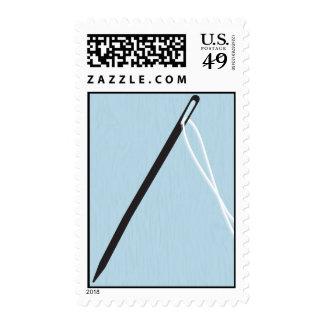 Pin Cushion Postage Stamp