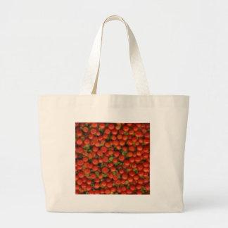 Pin cushion / Tiny Tomato Large Tote Bag