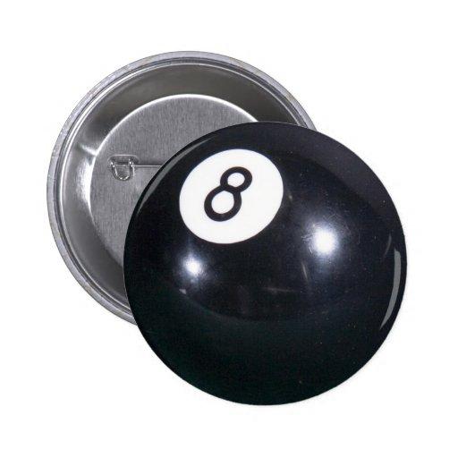 Pin de 8 bolas pin redondo 5 cm