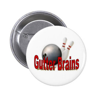 Pin de bolos de los cerebros del canal