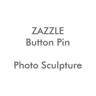 Pin de encargo del botón de la escultura de la pin fotoescultura