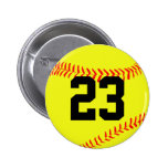 Pin de encargo del botón del softball