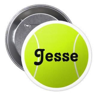 Pin de encargo del tenis