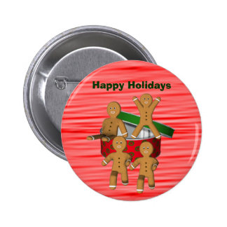 Pin de escape del botón del navidad de los hombres