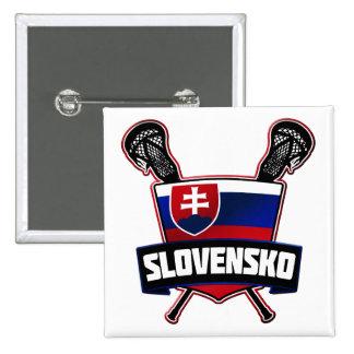 Pin de Eslovaquia Slovensko LaCrosse