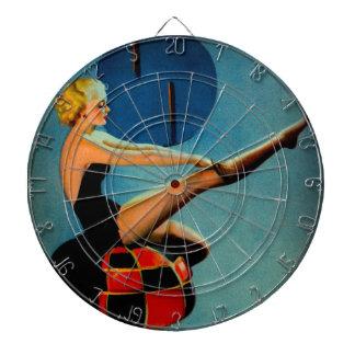 Pin de Gil Elvgren de la era del art déco del
