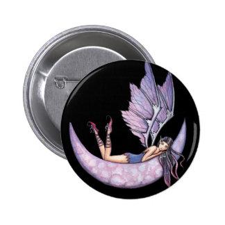 Pin de hadas púrpura gótico del botón por Molly Ha