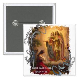 Pin de Juana de Arco del santo