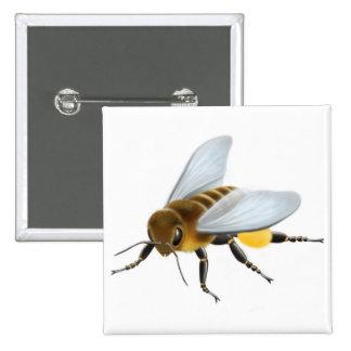 Pin de la abeja de la miel