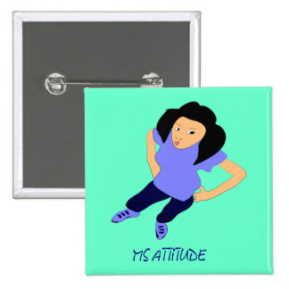 Pin de la actitud de MZ