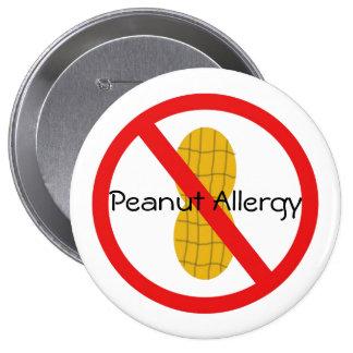 Pin de la alergia del cacahuete