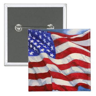 Pin de la bandera americana