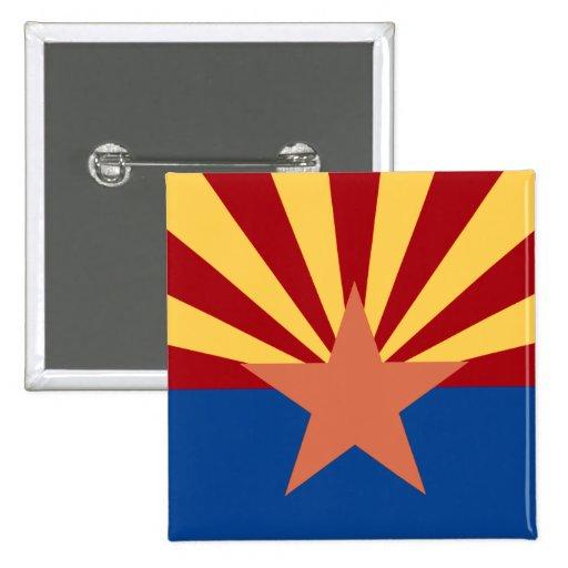 Pin de la bandera del estado de Arizona