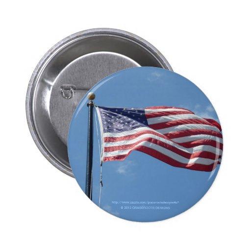 Pin de la bandera pin redondo 5 cm
