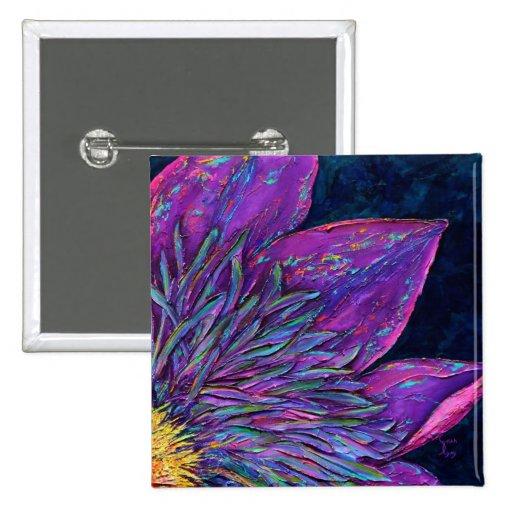 Pin de la bella arte de la flor de Clemantis del g
