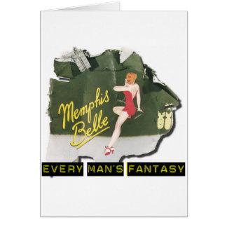 Pin de la belleza de Memphis para arriba Tarjeta De Felicitación