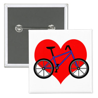 Pin de la bicicleta pin cuadrada 5 cm