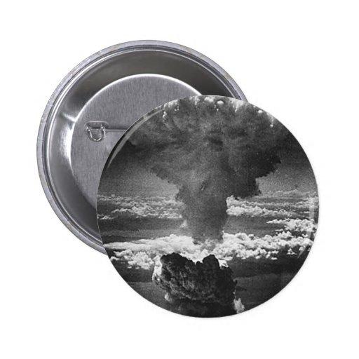 Pin de la bomba atómica pin redondo 5 cm