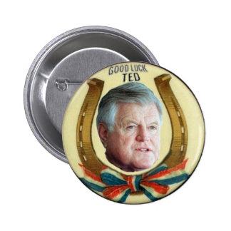 Pin de la buena suerte de Ted Kennedy